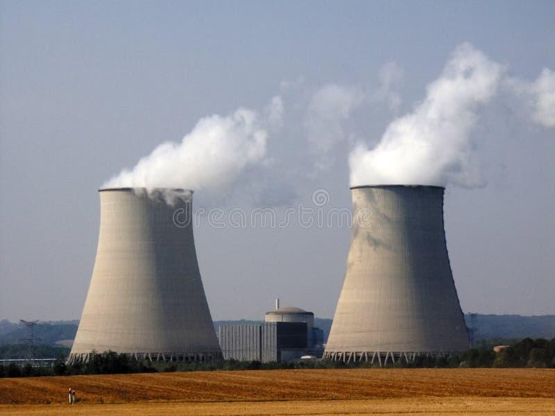 Nuclear imagem de stock