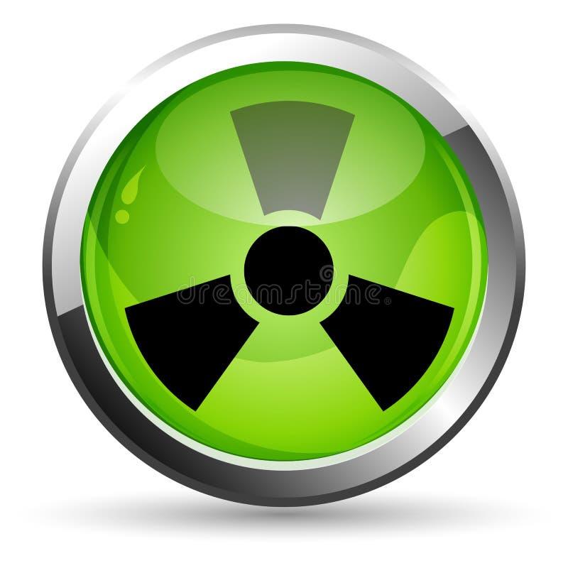 Nuclear ilustração stock
