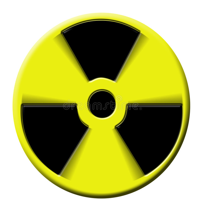 Nuclear atomic bomb royalty free illustration