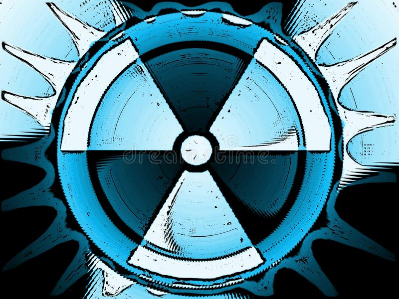 Nuclear background royalty free stock images