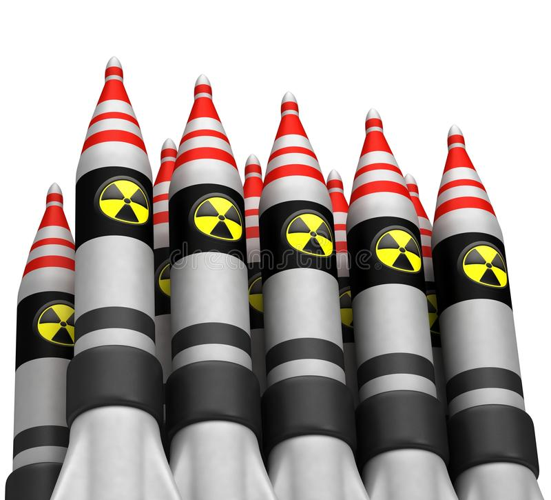 Download Nuclear Bombs With Radiation Icon Stock Images - Image: 26494374