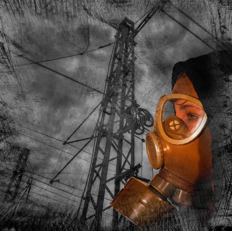 Download Nuclear danger stock image. Image of chemical, dirty - 19011193