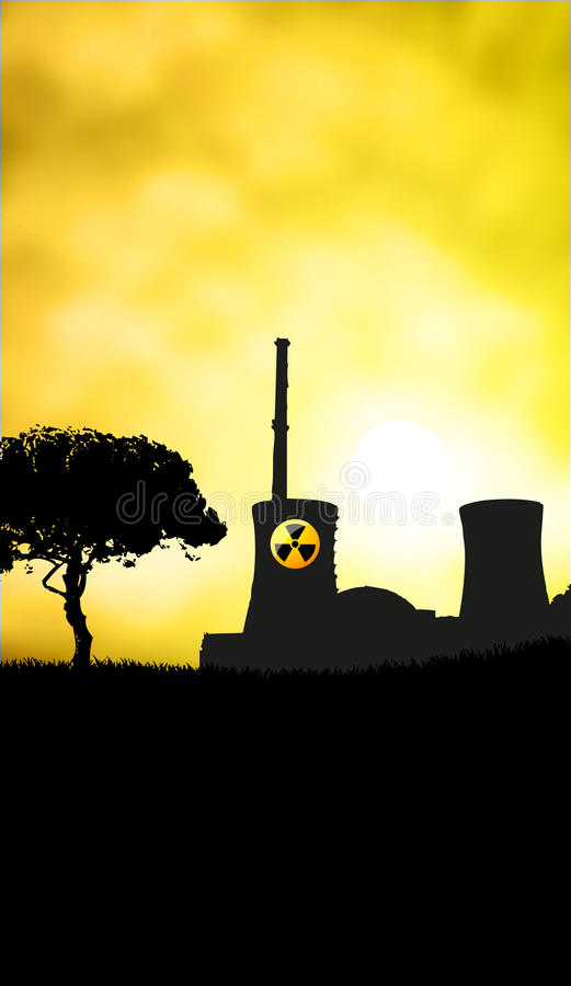 Download Nuclear danger stock vector. Illustration of bomb, death - 19361807