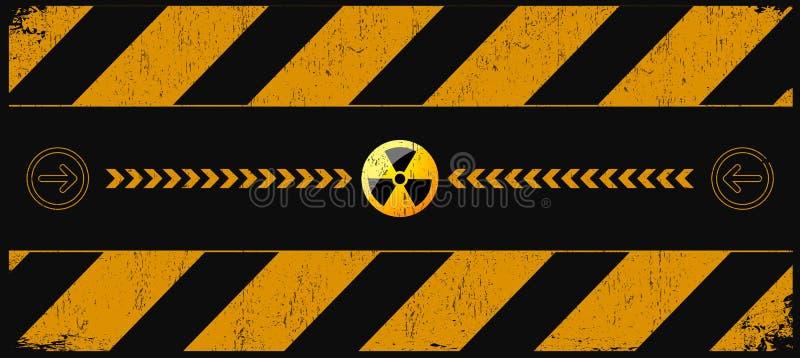 Download Nuclear danger stock vector. Illustration of atom, design - 22631425