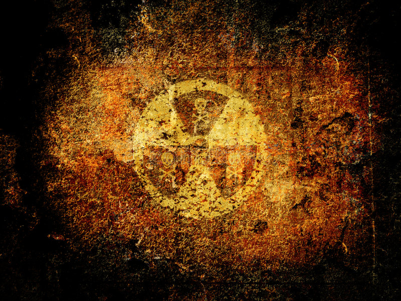 Nuclear Danger Stock Images