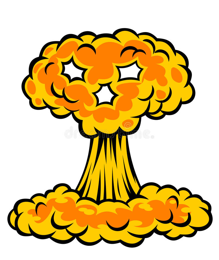 Download Nuclear Explosion Stock Image - Image: 23799011