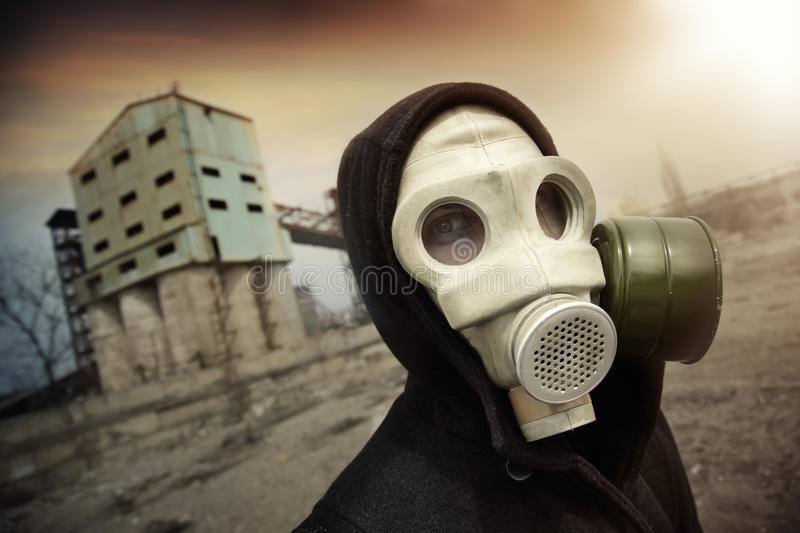 Nuclear man stock photography