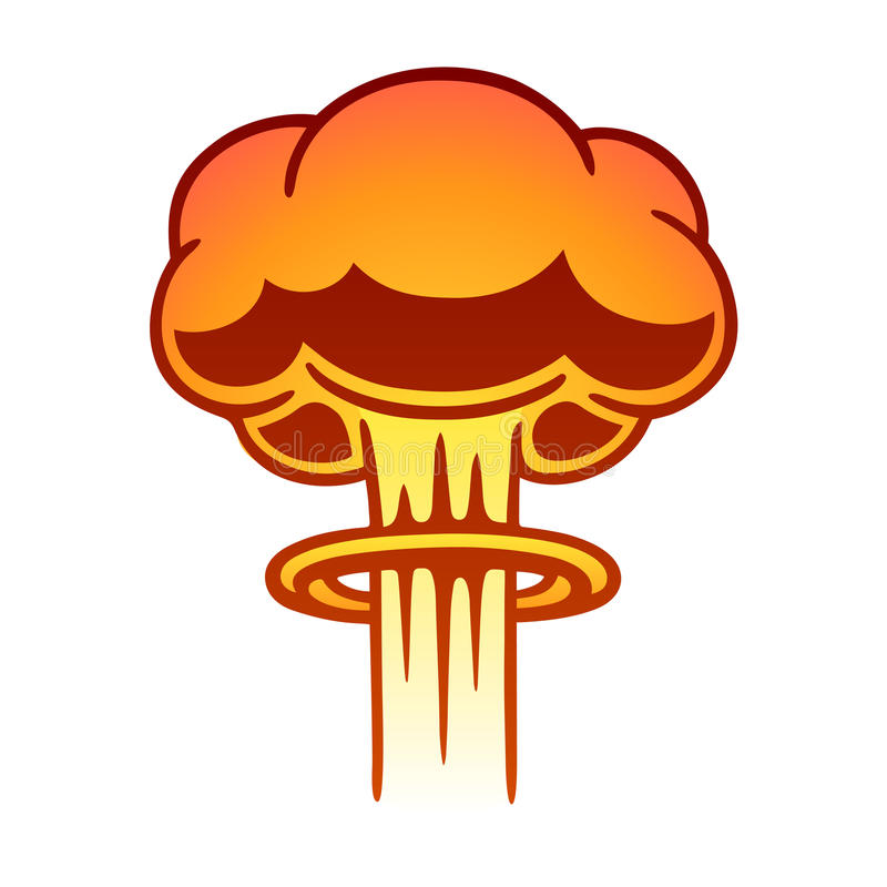 nuclear mushroom cloud stock vector illustration of background rh dreamstime com clipart explosion free clipart explosion gif