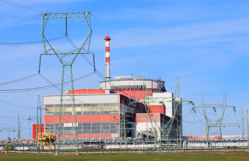 Download Nuclear Power Plant. Royalty Free Stock Photos - Image: 16749988