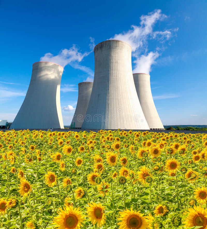 Download Nuclear Power Plant In Czech Republic Europe Stock Image - Image: 83706647