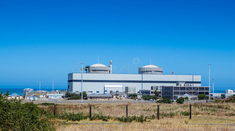 Nuclear power plant, Koeberg, South Africa royalty free stock photography