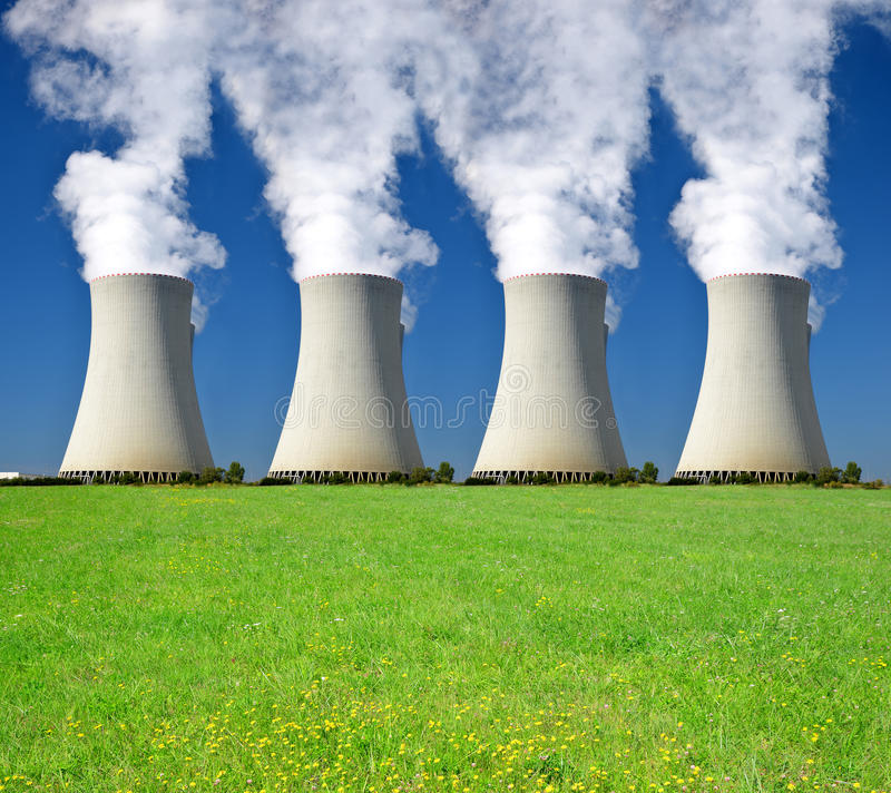 Download Nuclear power plant stock photo. Image of industry, nuclear - 39239968