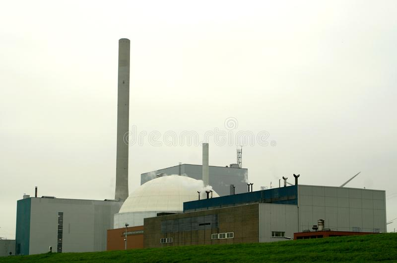 Nuclear power plant (the Netherlands) royalty free stock images
