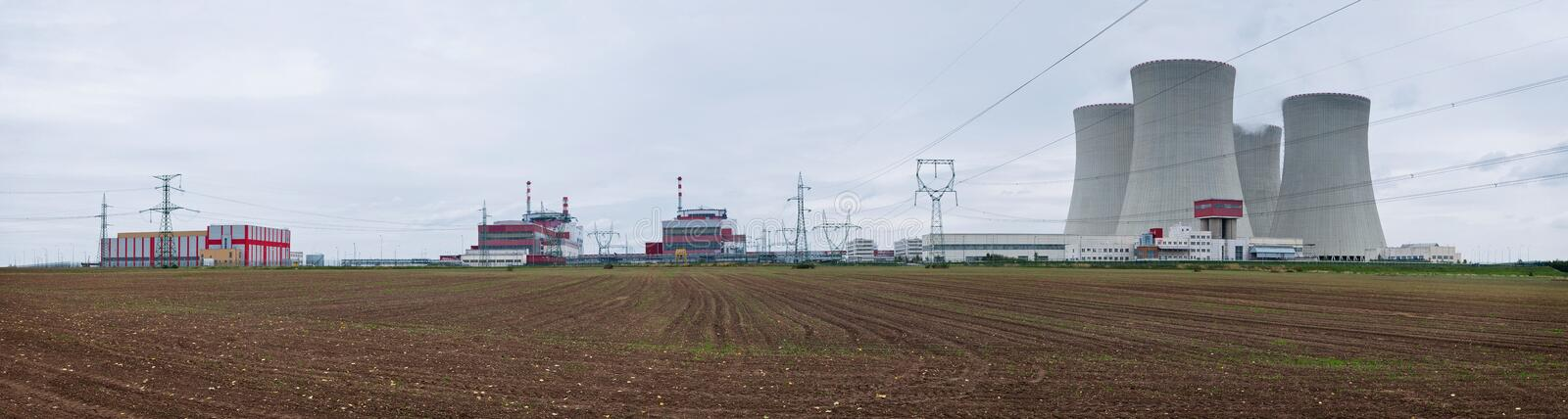 Download Nuclear Power Plant - Panorama Stock Photo - Image: 16072928
