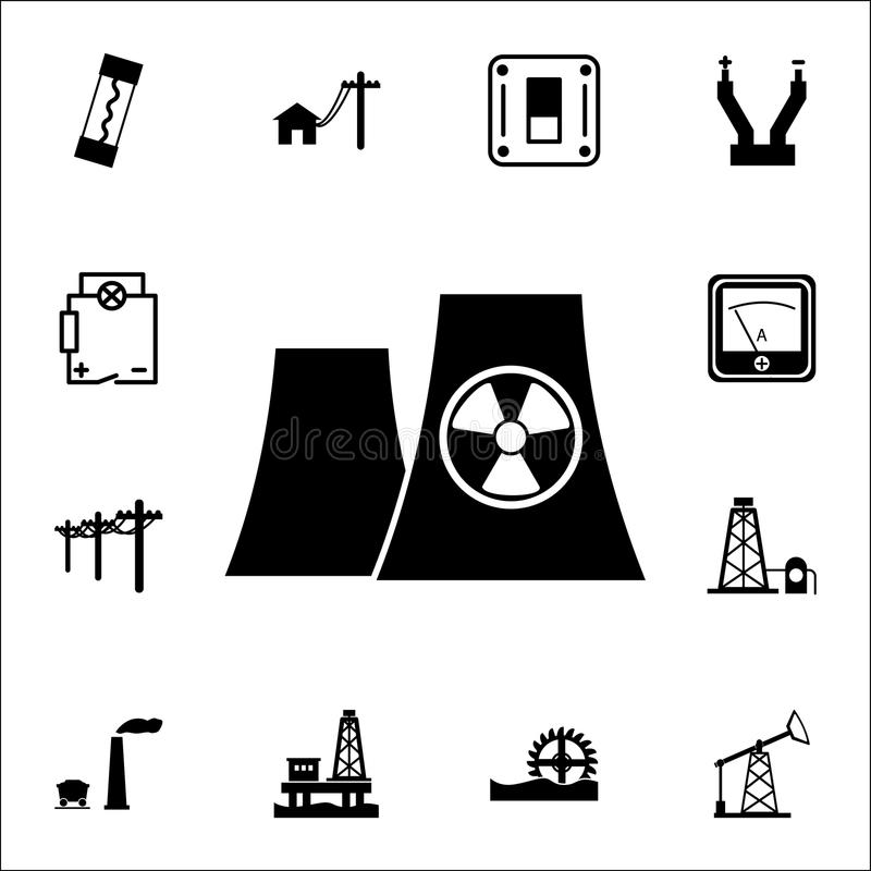 graphic of nuclear energy stock vector  illustration of