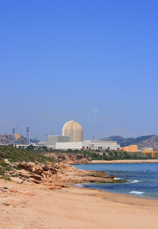 Free Nuclear Power Plant (Vandellos, Spain) Stock Photos - 4859033