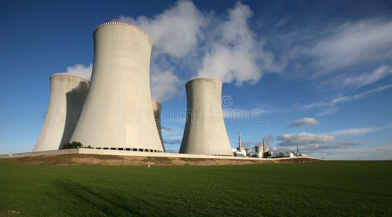 Nuclear power station. Dukovany, Czech Republic royalty free stock photos