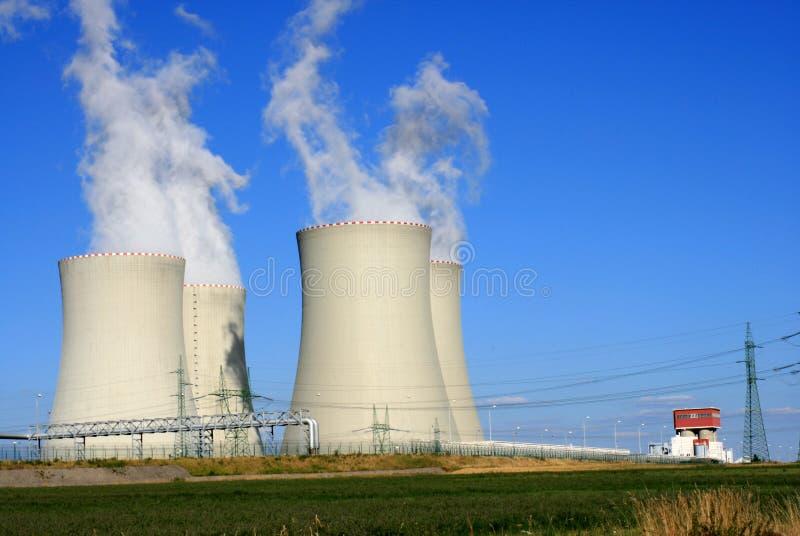 Nuclear power station 6 stock photos