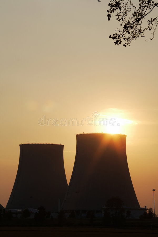 Download Nuclear power station stock photo. Image of station, nuclear - 6680560