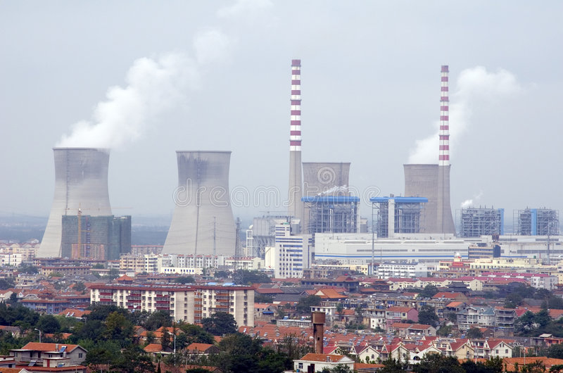 Download Nuclear Reactor stock image. Image of pollution, electric - 3323743