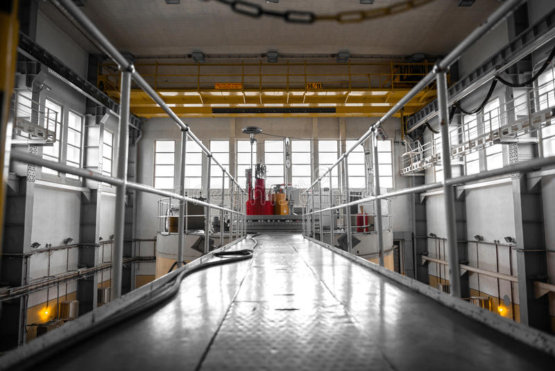 Download Nuclear Reactor In A Science Institute Stock Image - Image: 36619893