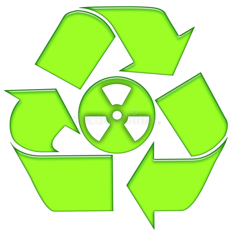 Download Nuclear Recycling Royalty Free Stock Photography - Image: 13510167