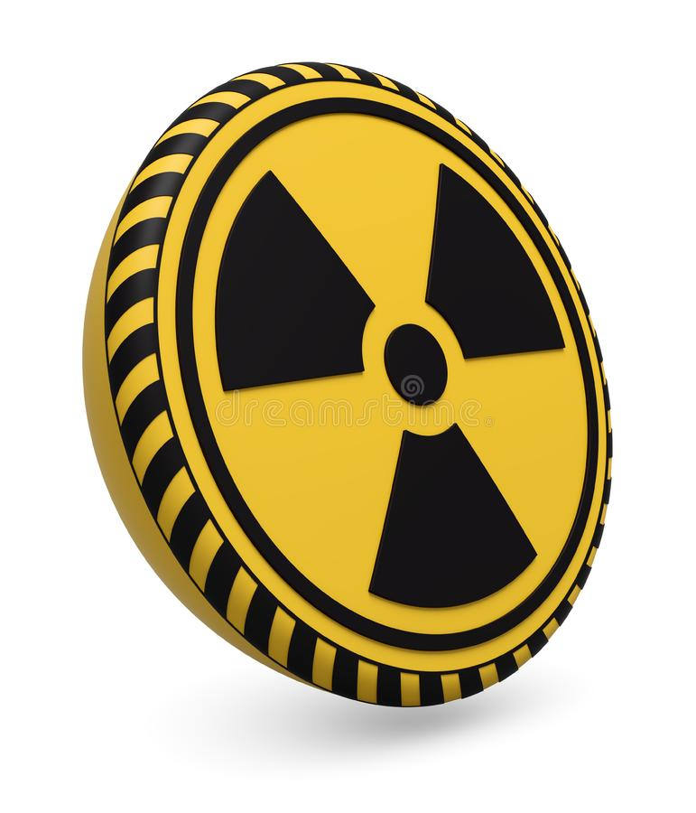 Download Nuclear target stock illustration. Illustration of radioactive - 19302536