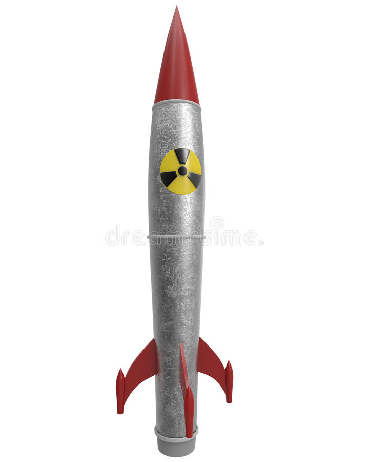 Download Nuclear Warhead With Clipping Mask Stock Illustration - Image: 42036797