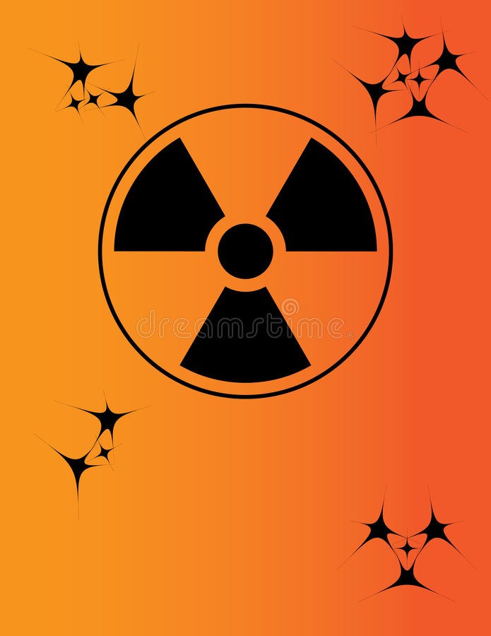Download Nuclear Warning Sign Royalty Free Stock Photography - Image: 7257547