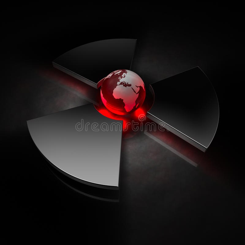Nuclear World - Europe Stock Photography