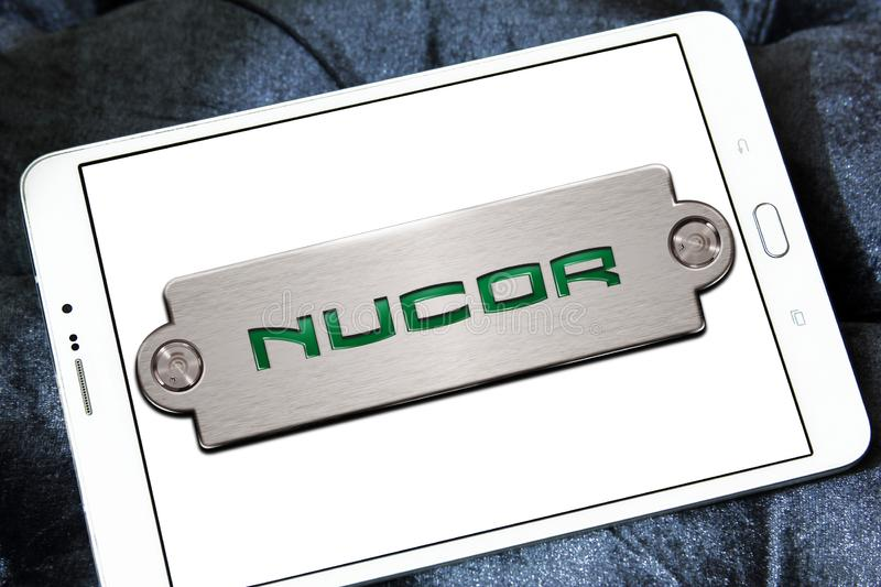 Nucor Steel Corporation Logo Editorial Photography Image Of