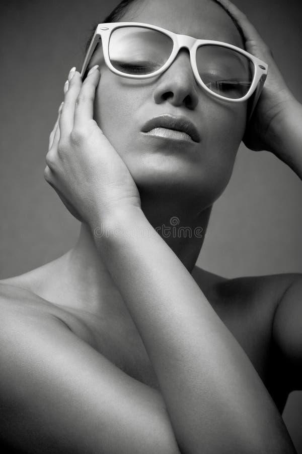 Nude girl stock photos