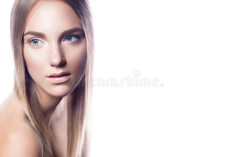 Nude make up royalty free stock images