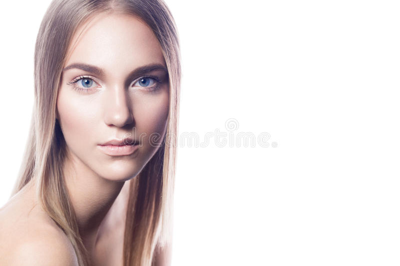 Nude make up royalty free stock image