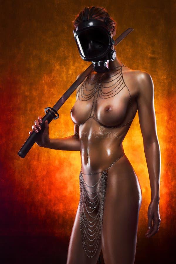 Katana female naked — pic 13