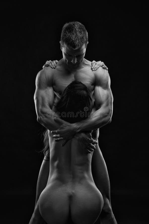Female bodybuilding nudes black and white