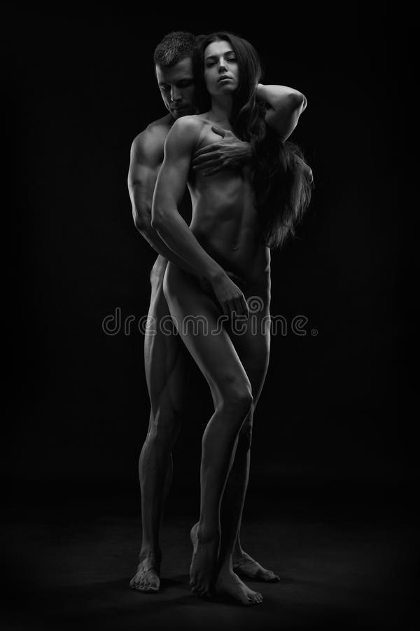 photography white female black male nude