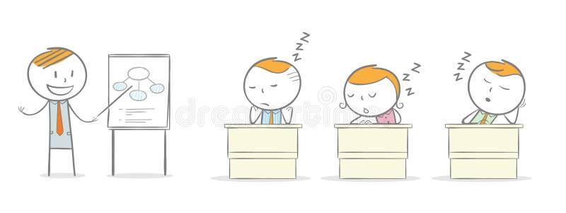 nudna klasy ilustracja wektor