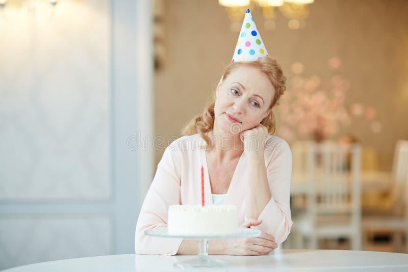 Nudny urodziny zdjęcia stock