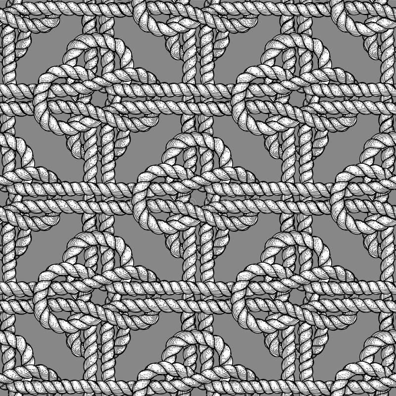 Nudo cruzado del marinero libre illustration