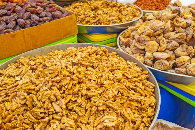 Download Nueces e higos en Antalya foto de archivo. Imagen de cocina - 100531220