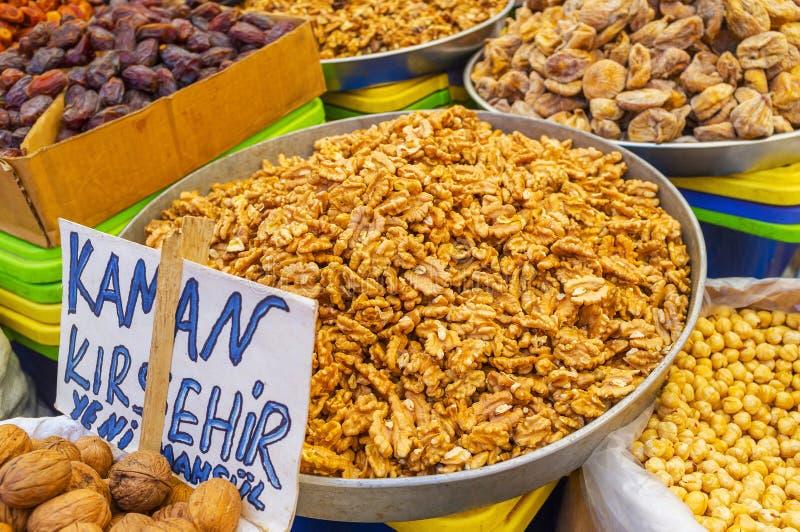 Download Nueces en Antalya imagen de archivo. Imagen de alimento - 100531449