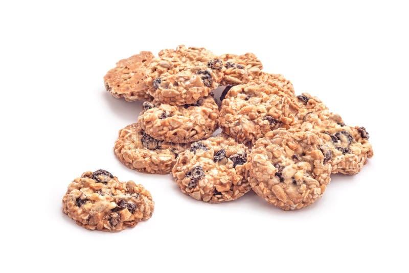 Nueces y galletas de las frutas imágenes de archivo libres de regalías
