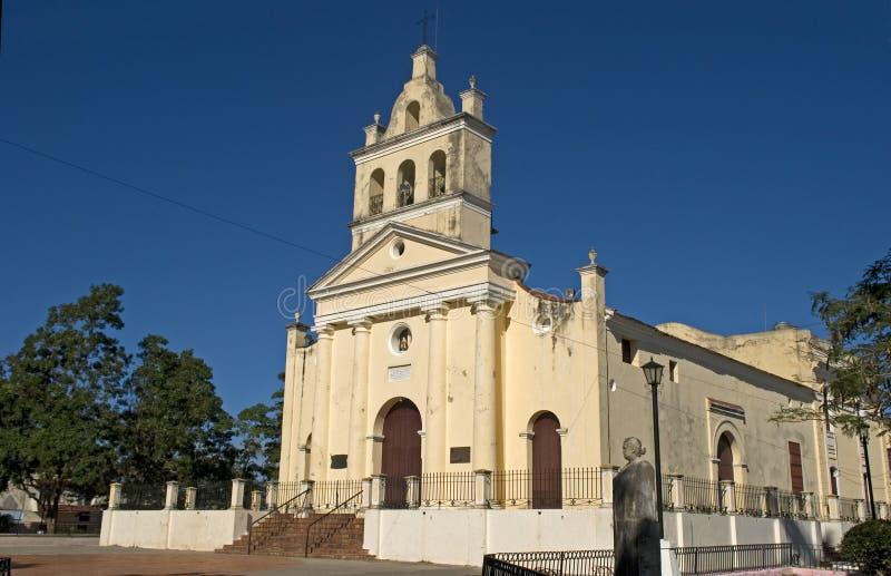 Nuestra夫人del卡门Church,圣克拉拉,古巴 库存照片
