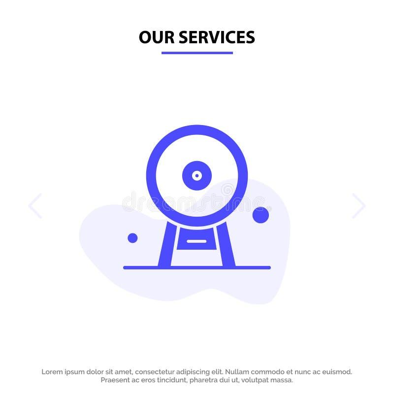 Nuestra arquitectura de los servicios, Inglaterra, Ferris Wheel, señal, London Eye, plantilla sólida de la tarjeta de la web del  ilustración del vector