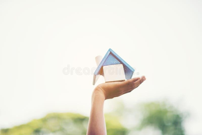 Nuestra casa y la casa están en mi sueño fotos de archivo libres de regalías