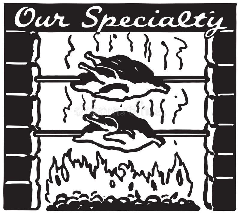 Nuestra especialidad libre illustration