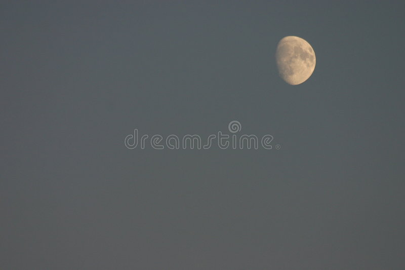 Nuestra luna imagen de archivo libre de regalías