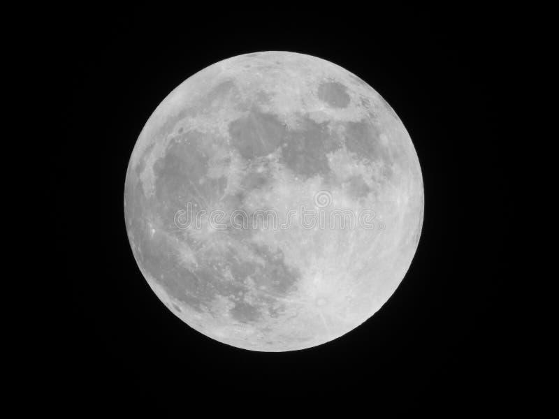 Nuestra luna magnífica foto de archivo libre de regalías