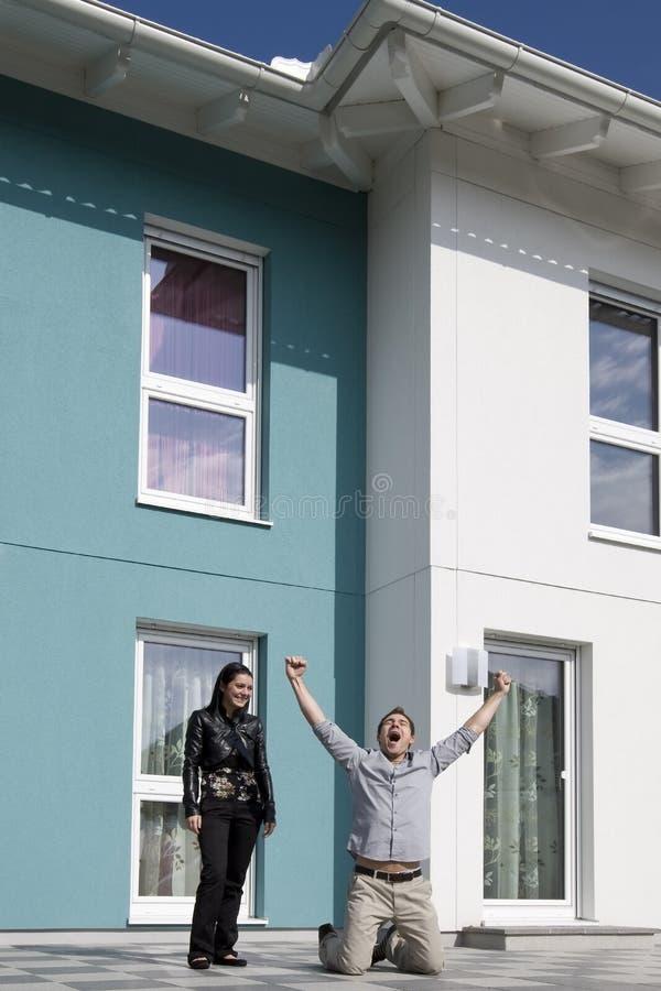 Nuestra nueva casa fotos de archivo